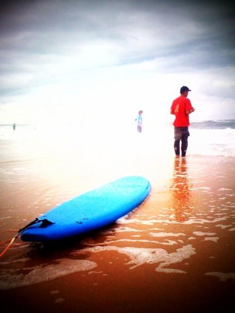 Sur la côte Atlantique, un matin d'été
