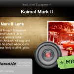 Kaimal Mark II Lens