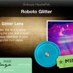 Roboto Glitter