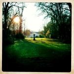 Au détour d'une balade au parc