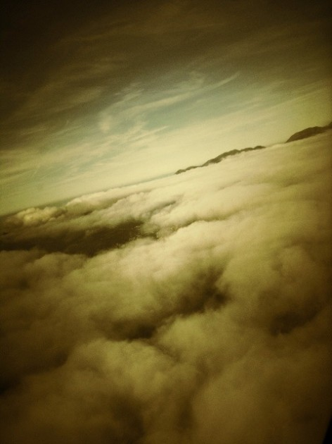 By plane