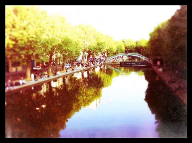 le canal st martin