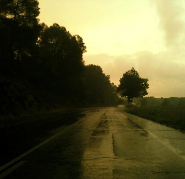 route de pluie