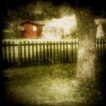 Petite cabane au fond du jardin du Manoir les Arums